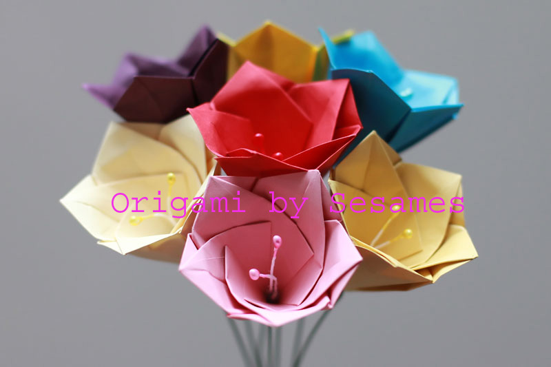 WWW.SESAMES.CO.UK - London Origami Florist - Paper Origami ... - photo#11
