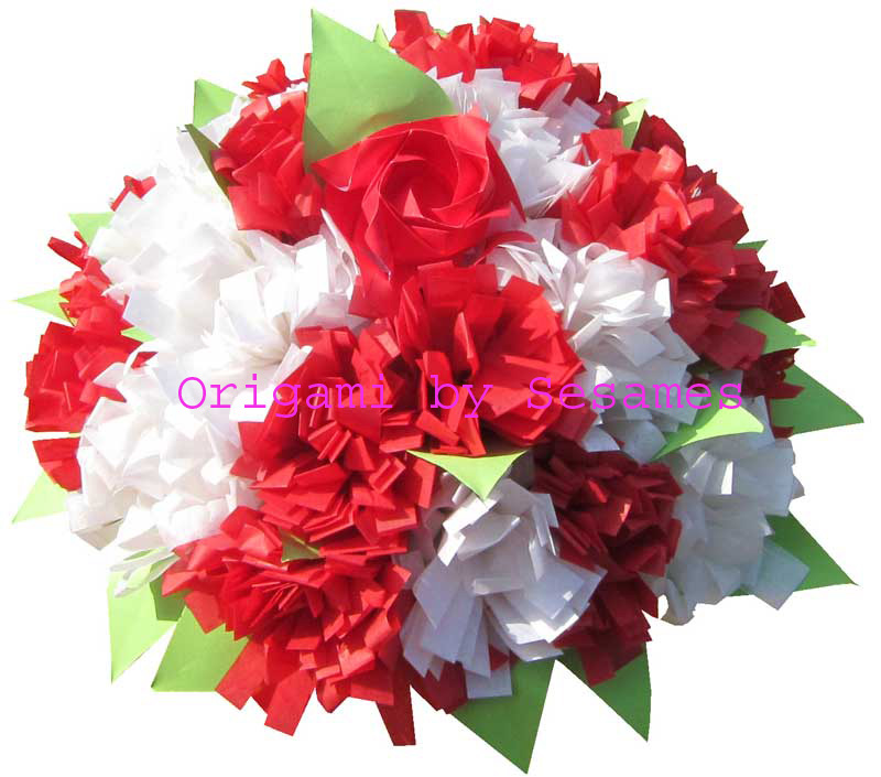 Sesames london origami florist paper origami flowers uk london origami florist paper origami flowers bouquets wedding anniversary mightylinksfo